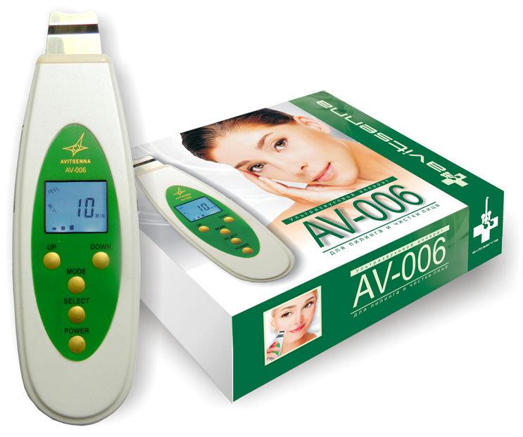 Аппарат для ультразвуковой чистка лица в домашних условиях
