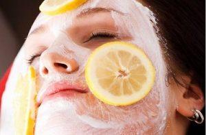 маска с лимоном от прыщей