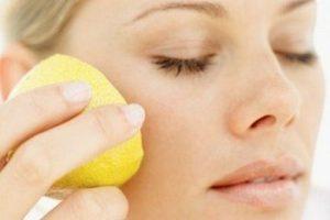 Лимонный сок от прыщей